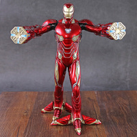 Crazy Toys Iron Man MK50 1/6 Battering Ram Iron Man Mark 50 Foot Clamps Ver Action Figure Model Toy Doll Gift