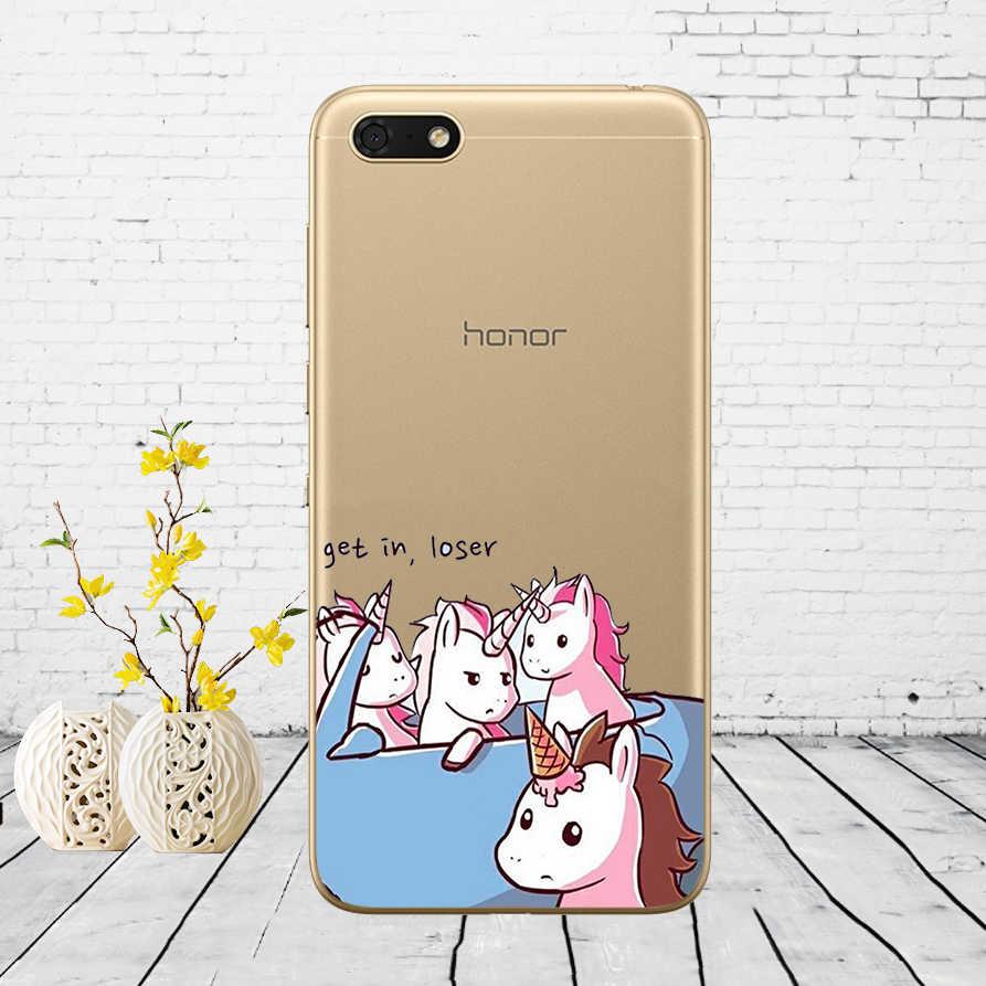 01 силиконовый чехол для huawei Honor 7A, 5,45 дюймов, мягкий чехол для телефона huawei Honor 7A 7 A, DUA-L22, русская задняя крышка, чехол-бампер