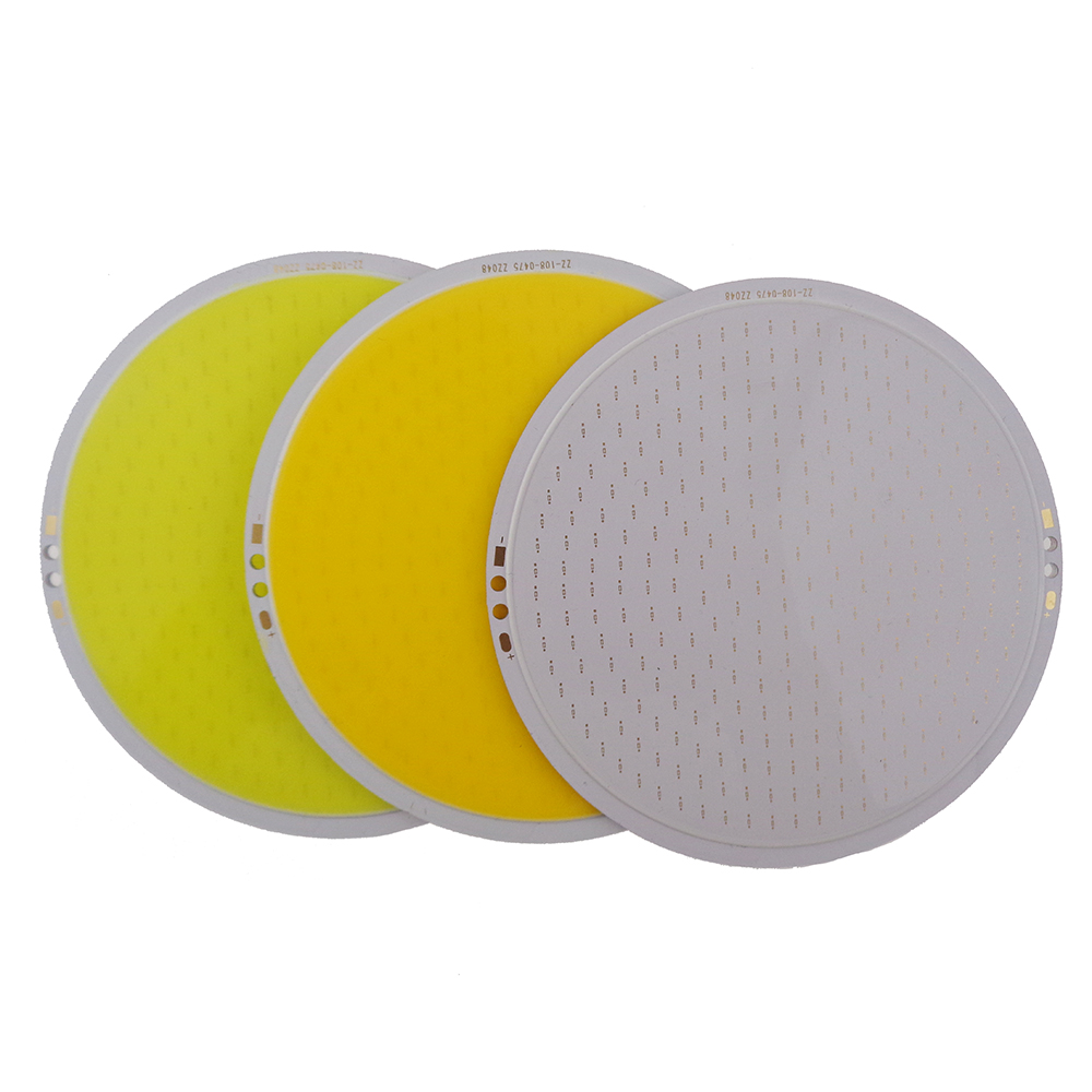 COB 50W Ultra Bright Round LED Pure White Light Lamp source Chips diy DC12V for