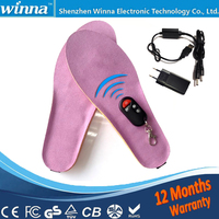 Wireless Heating Insoles Winter WOMEN INSOLES Remote Control Battery Insoles Large EUR Size 41 46 Factory
