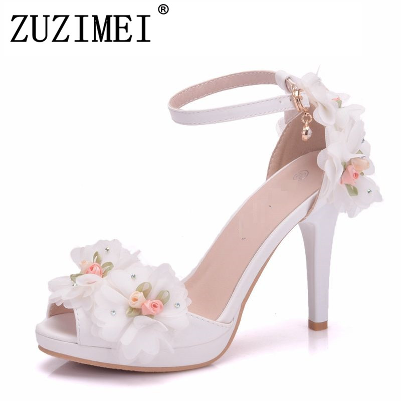 Aliexpress.com : Buy Women Bride Shoes Toe High Heeled