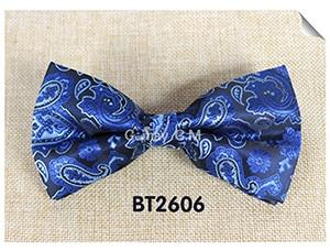 Мода кешью цветы Классический Боути для человека галстуки Регулируемая свадьба лук Галстуки полиэстер человека Bowties - Цвет: BT2606