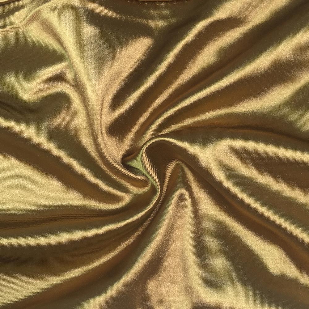 Sexy Party Midi Dress Bodycon Satin Shiny Party V Neck Sleeveless Split Back Cross Straps Gold Red Knee length Dresses Black 24