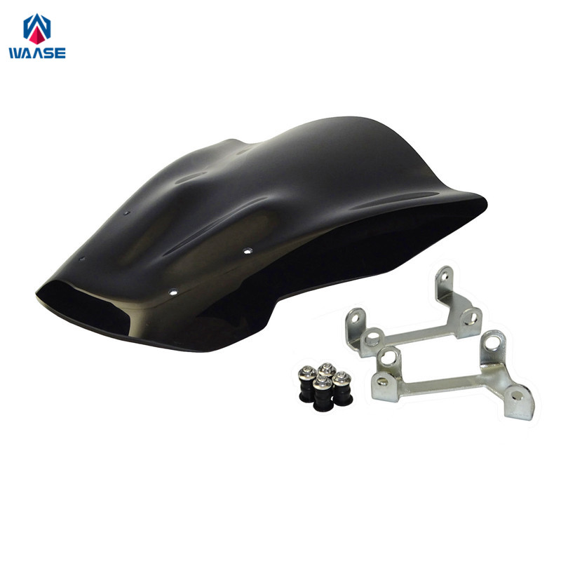 waase MT-07 FZ-07 2014-2017 Windscreen Windshield Shield Screen For Yamaha MT07 FZ07 2014 2015 2016 2017