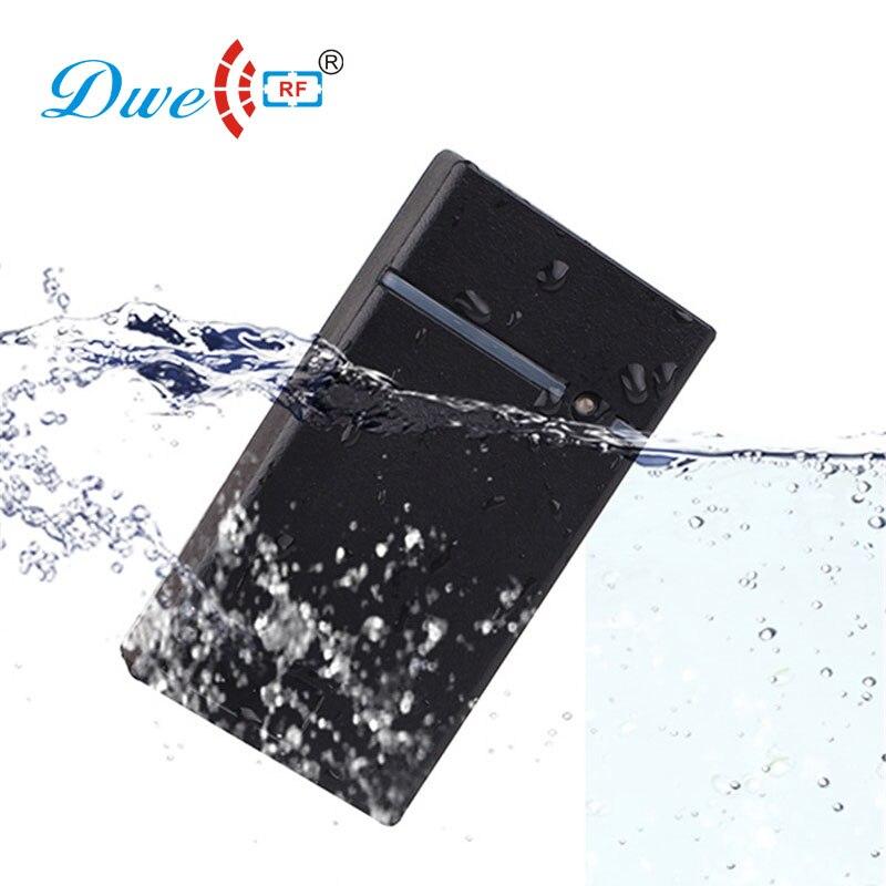 DWE CC RF Black mini 125khz EM4100 rfid proximity tag card reader with rs232