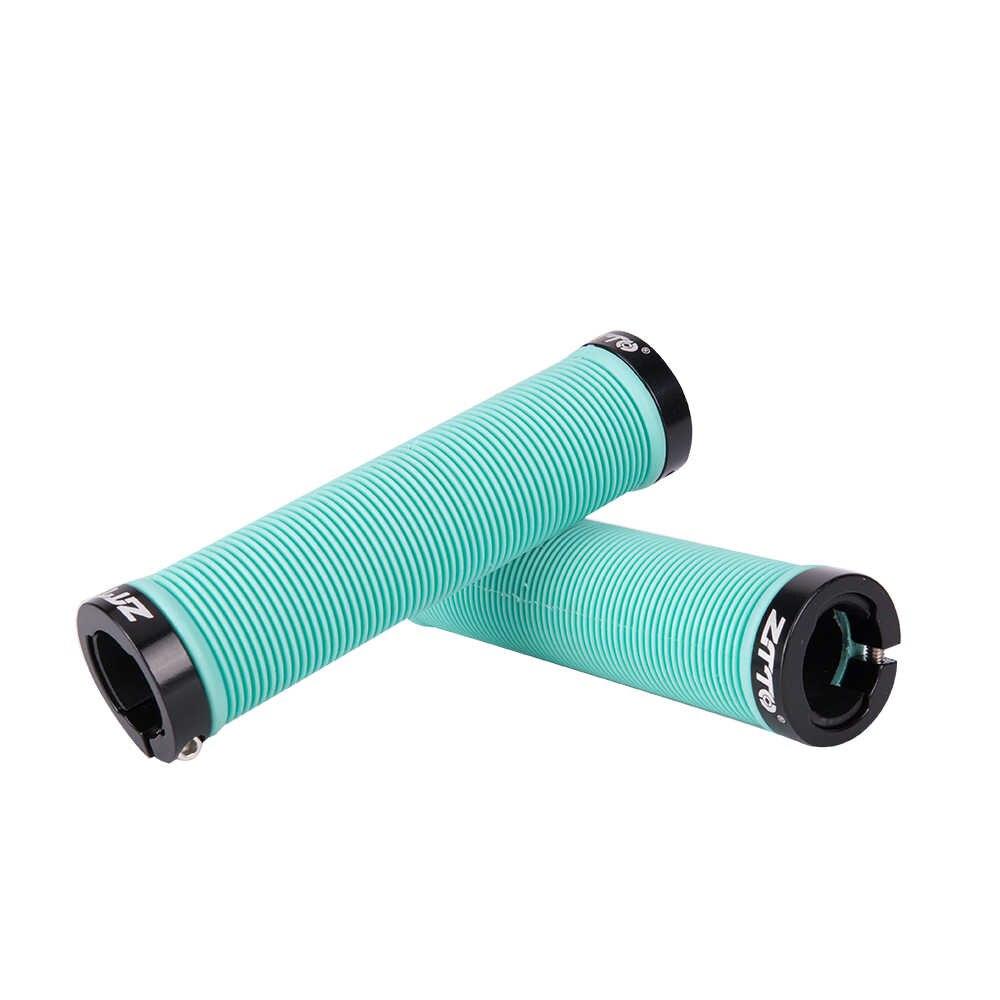 1Pair ZTTO Cycling Lockable Handle Grip Anti slip Grips MTB Bike Alloy Rubber