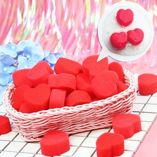 1 Piece Kids Fluffy Slime Accessories Red Love Toys for Children Boys Girl Antistress DIY Educational Handmade Funny Lovely Game(China)
