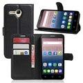 Мода Личи PU Бумажник Кожаный Чехол Case Для Alcatel One Touch Pop 3 5.5 5025D Флип Защитный Телефон Сумка С Держателем Карты