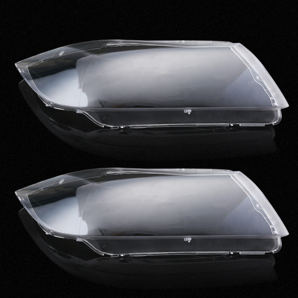 Car Styling Left&Right Headlight Lens Cover for BMW Headlight Lense Replacement LED Headlight Cover Case for BMW E90/E91 04-07 car styling left