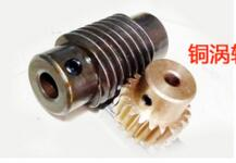 gear 1M20teeth Ratio 5:1 worm gear inner hole 6mm rod inner hole 8mm