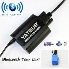 Yatour Bluetooth автомобильный адаптер YT-БТА для RD3 Peugeot Citroen RB2 RM2 Ван-шины AUX в Hi-Fi A2DP USB порт для зарядки