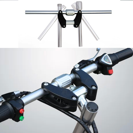 2015brand new 3seconds quick easy folding aluminum alloy handlebar for fold folding bike foldable bicycle parts 25.4mm handlebar brand new 2015 3 584hz85198