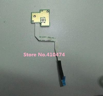 WZSM Wholesale Original new Power Switch Button Board with Cable for DELL INSPIRON N5030 M5030 Free Shipping button switch a16l trm 24 1 original