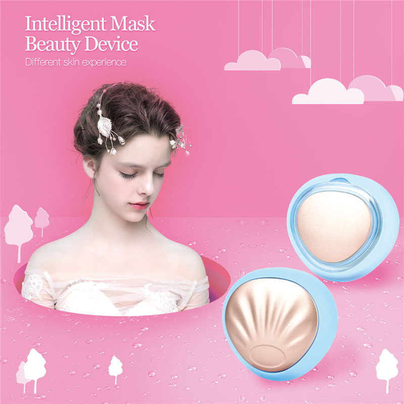 3 Colors LED Light Photon Smart Face Mask Device 90 Second Repair Cooling Warming Therapy USB Rechargeable Facial Care Massager3 Colors LED Light Photon Smart Face Mask Device 90 Second Repair Cooling Warming Therapy USB Rechargeable Facial Care Massager
