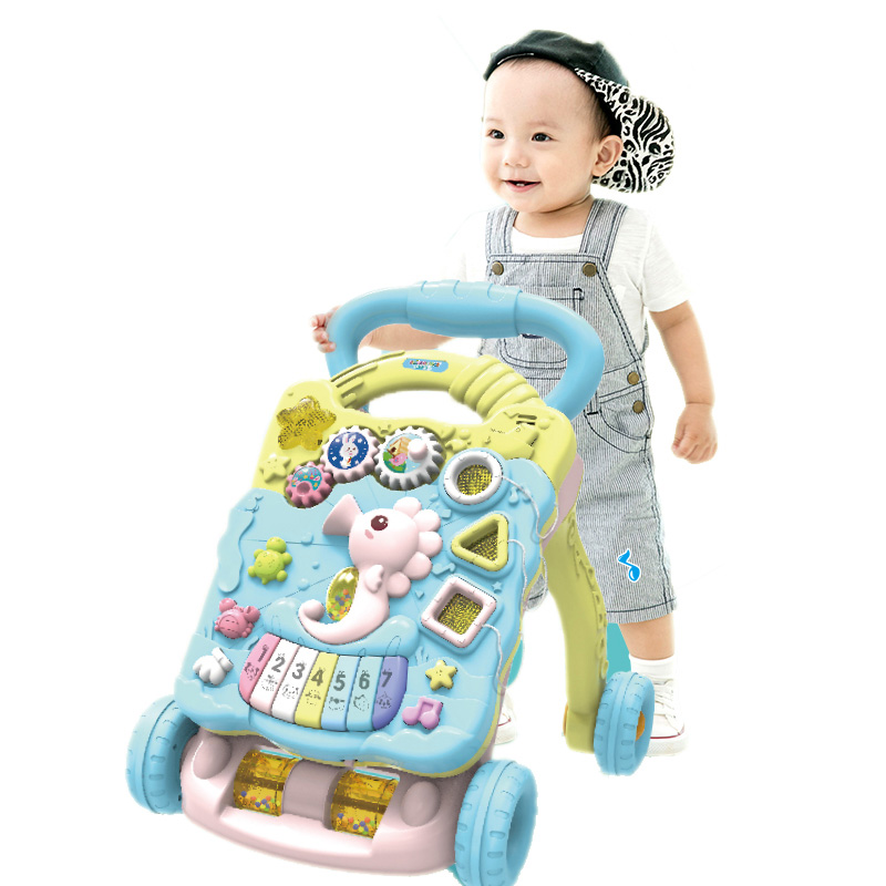 Baby toy little seahorse learner stroller for 8 to 12 months baby stroller for early educationBaby toy little seahorse learner stroller for 8 to 12 months baby stroller for early education