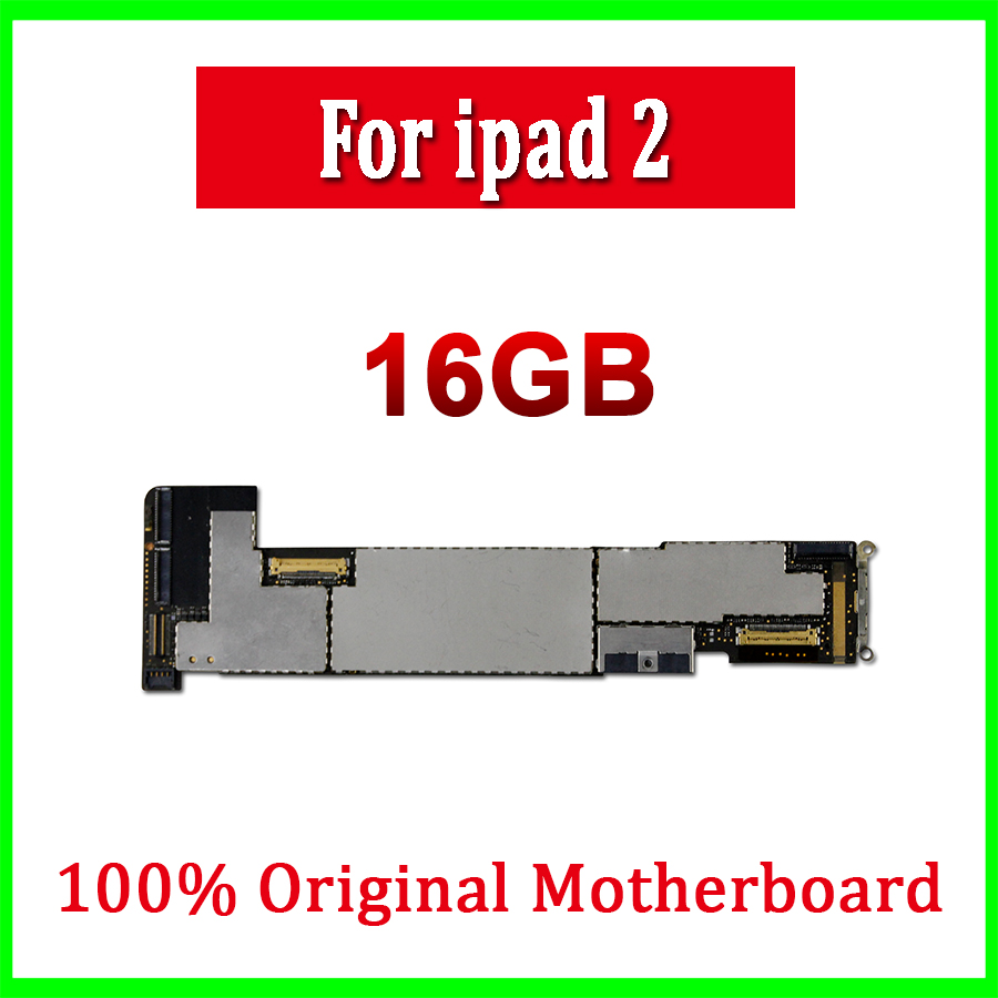 medium resolution of 16gb original unlocked wifi version for ipad 2 motherboard for ipad 2 mainboard with