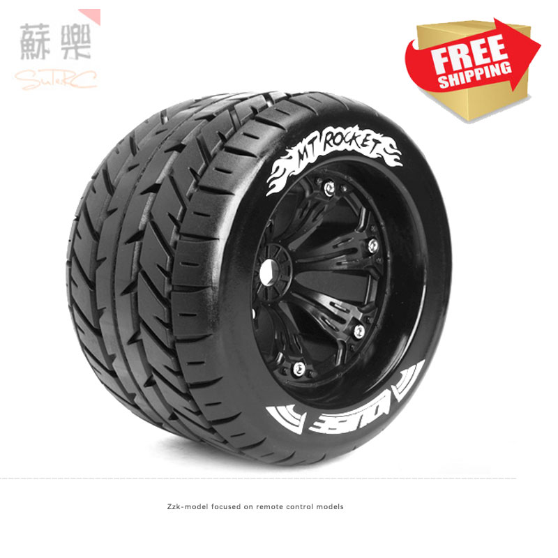 Louise 3.8 1/8 monster truck touring car 1/8 tire rc model car option parts Summit e revo traxxas savage flux 17mm HPI LOSI MT