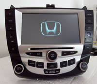 2 din auto radio for honda accord 2003 2007 with canbus gps dual zone RDS steering wheel control rear view camera input