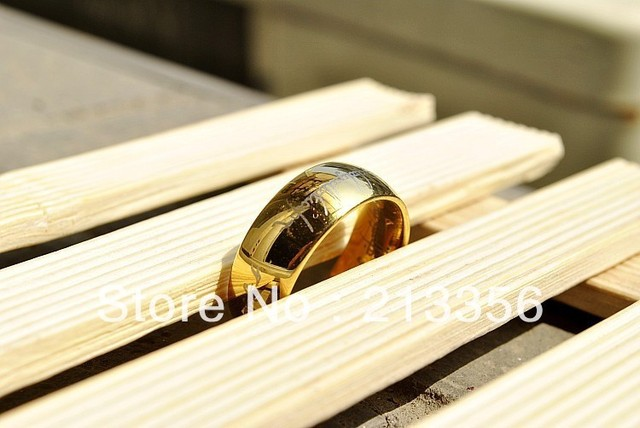 Free Shipping !Cheap Price Promotion Sales! USA Hot Selling New Lord of The Ring Mens Wedding Band Tungsten Ring The LOTR Ring