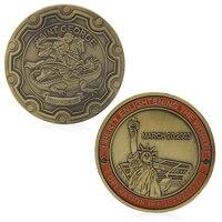 Iraqi Freedom Liberty Enlightening World Military Commemorative Challenge Coins