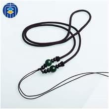 JuleeCrystal gorąca sprzedaż nylonowa lina pleciona chińska lina na naszyjnik DIY wisiorek lina tanie tanio zhubaiwan CN (pochodzenie) Sznury 0 31inch 18inch Ocena biżuteria SN-R003 Black Brown Strings Cords Thread Rope Wire for DIY Necklace Jewelry making etc