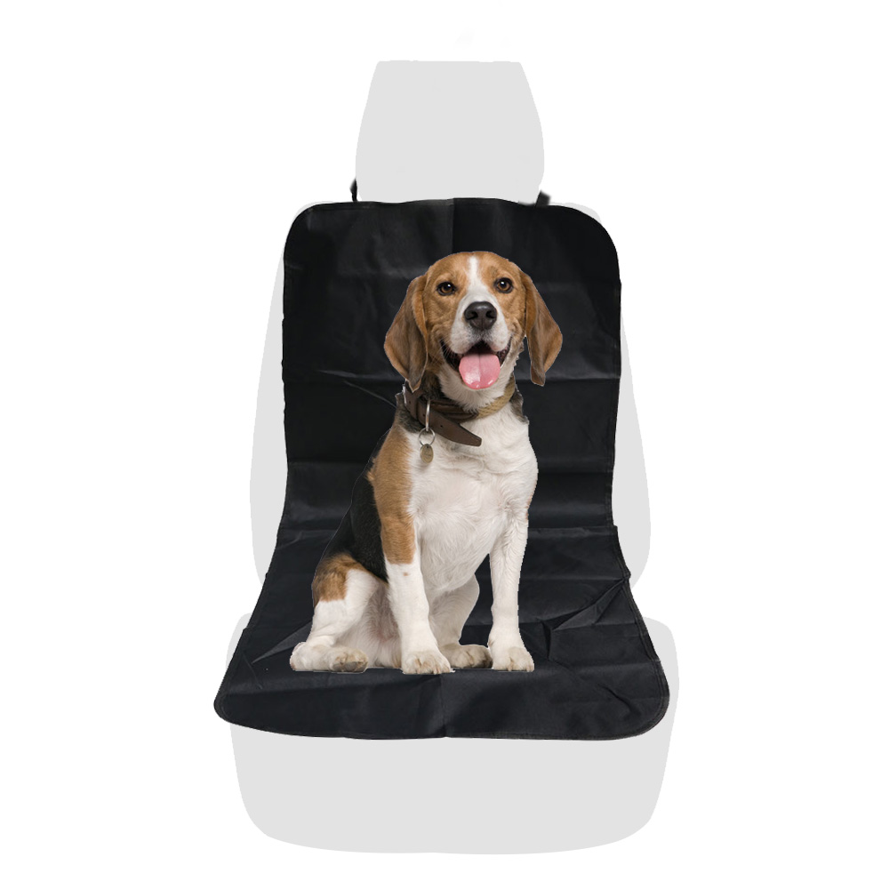 Hoopet Pet Car Copilot Seat Convenient Cover Front Row Vehicular Pads Passenger Seat Cushion Pvc Waterproof Coating Treatment