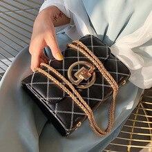 Hot Sale Diamond Lattice Leather Female Handbags For Women Mini Chain Shoulder Bag Ladies Travel Flap Messenger Cross Body Bags цена в Москве и Питере