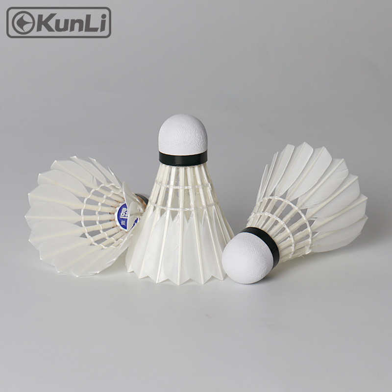 Kunli badminton shuttlecocks KL-Silver Toppbetyg Cigu - Sport racketar - Foto 6