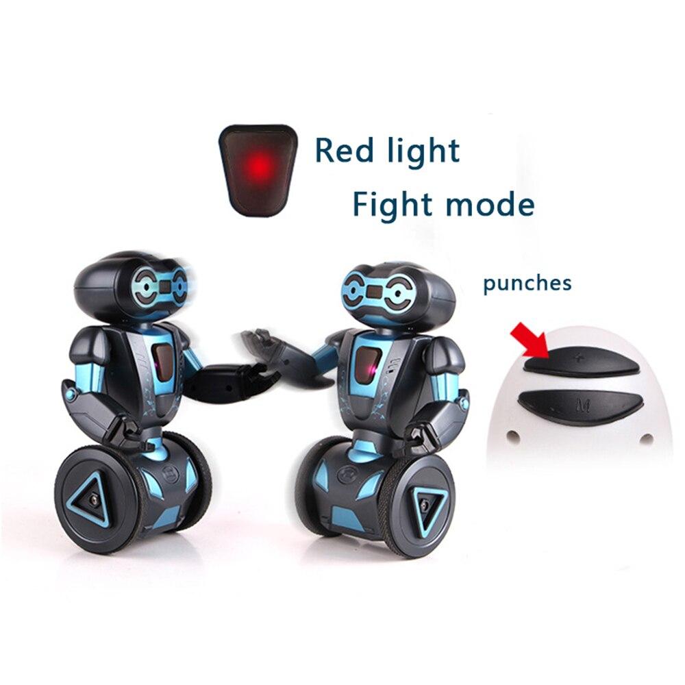 Commande vocale Rc Robot Jouets Pour Enfants 5 D'exploitation Modes Télécommande Intelligente Humanoide Robotique Présent Jouets Électroniques - 5