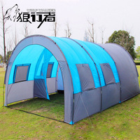 Waterproof Cabin Tent for 5 8 Person with 2 Porches & 1 Room Ultralight & Large for Family Camping Outdoor Sport Fishing Hiking