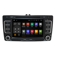 Capacitive Screen Two Din 7 Inch Car DVD Player For SKODA Octavia 2013 3G Host GPS