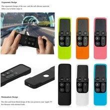 Дистанционный защитный силиконовый чехол легкий ударопрочный держатель для кожи для Apple tv 4K контроллер