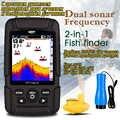 FF718LiCD FORTUNATO con display a colori Impermeabile Ecoscandaglio Dual Sonar di Frequenza Sonar Wireless e Wired 200 KHz/83 KHz 100M