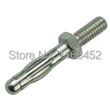 UBP414 M4 thread M4 4MM banana plug panel Uninsulated plug threaded bolts