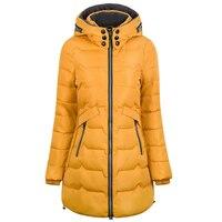 2018 Plus Size 6xl 7xl Cotton Coat Long Winter Jacket Parka Women Thick Slim Long Warm Hooded Padded Parkas Female