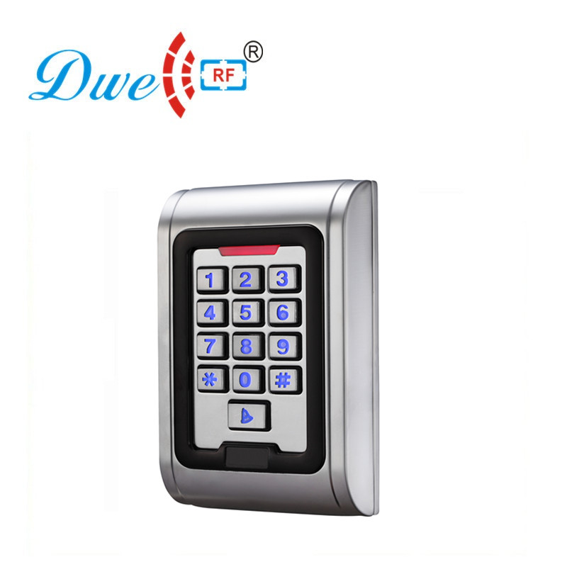 DWE CC RF Standalone Access Controller Metal Waterproof IP 68 With Backlight Numbers D008-C101 d008 1pair 100