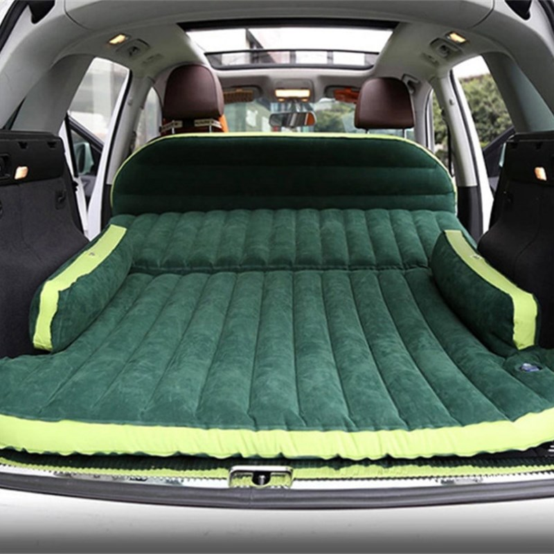 Outdoor Camping Travel Bed Moisture proof Pad SUV Car Self driving Tours Inflatable Mattress Seat Inflatable