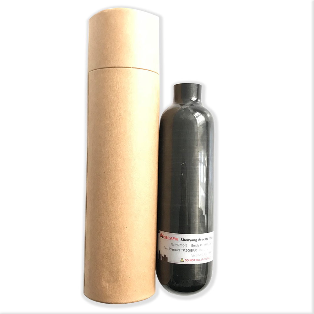 AC3035 Co2 Bottle 0.35L Cylinder Hpa Small Rifle Underwater Paintball Equipment Breathing Apparatus Airforce Condor Airsoft Hpa