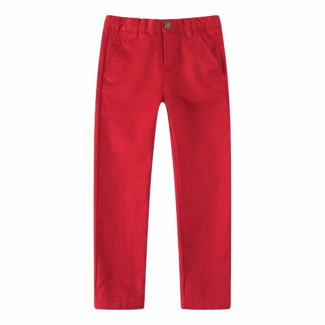Girls' Bright Cotton Pants
