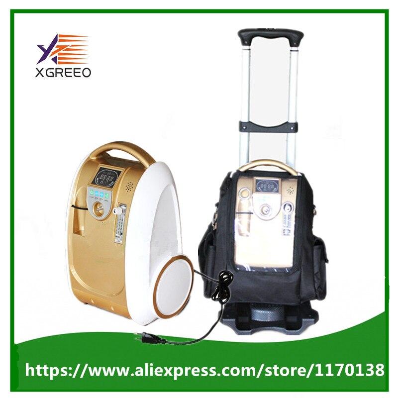 Xgreeo xty-bc103 мини Портативный ГЕНЕРАТОР КИСЛОРОДА КОНЦЕНТРАТОРА батарея/зарядное/домашнего использования концентратор кислорода