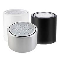 12pcsx3W 5W 7W 12W Round COB LED Downlight Surface Mounted Kitchen Bathroom Spot Light Lamp Easy
