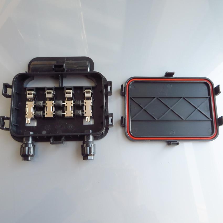 250w 350w Solar Junction Box Waterproof Ip65 For Solar