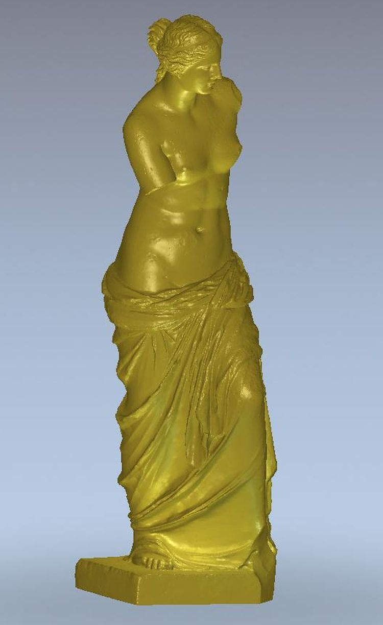 3d Model Relief  For Cnc In STL File Format Statue In A Raincoat