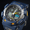 2017 Blue Color Fashion Digital Men's Watch S Shock G Style Analog Male Wristwatch EPOZZ Waterproof Dive Relogio Masculino E3001