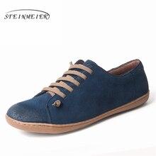 Mannen platte zomer schoenen echt leer barefoot Casual Schoenen man Flats ballerina sneakers Schoeisel lente schoenen 2019