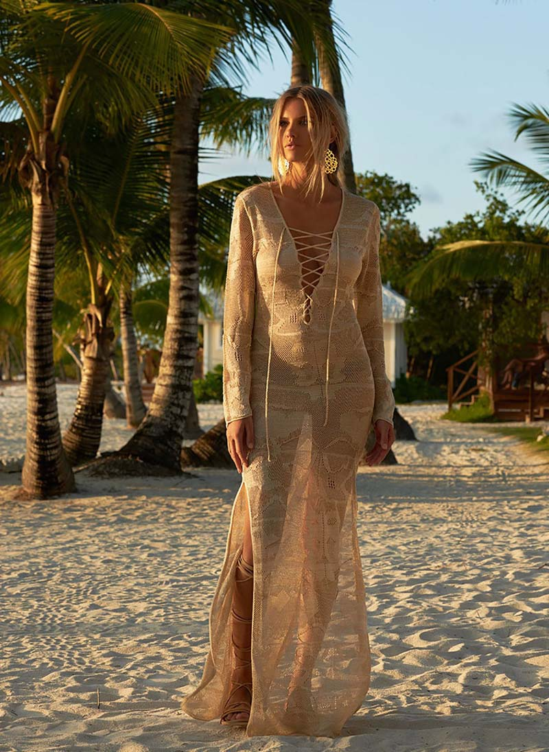 Lace Beach Cover up Hollow Out Bathing suit cover up Vestido playa crochet Saida de Praia Cover up Kaftan bikinis Long swimsuit breasted hollow out zip up teddy