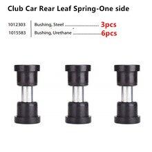 Клубная машина DS Задняя листовая пружина для клубной машины DS Golf Cart 1992+ вверх, втулка и втулка комплект OEM#1015583,1012303