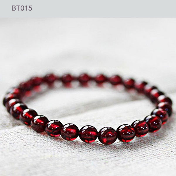 Luxury AAA Grade Natural Red Garnet Bracelet, Charm Beaded Bracelets & Bangles, Healthy Braclets for Women Men Jewelry