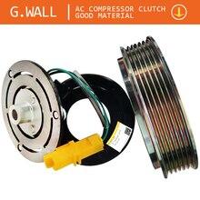 Муфта кондиционера для peugeot 206 307 муфта компрессора кондиционера включает: шкив и ступицу и катушку