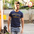 SIMWOOD 2016 Brand Newest Men T shirt  Summer Short sleeve O-neck Letter Casual Slim T shirt Mens Tops Tee Free Shipping TD1001